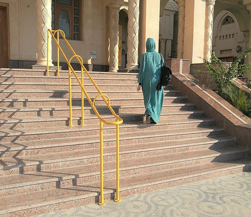 Visiting El Mina moskeija Hurghada