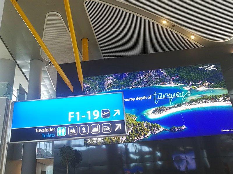 Führung am Flughafen Istanbul