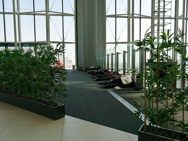 Spanie strefę to idealne miejsce odpoczynku w Istanbul Airport.