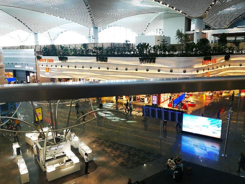 Spożywcze i restauracja udogodnienia w Istanbul Airport