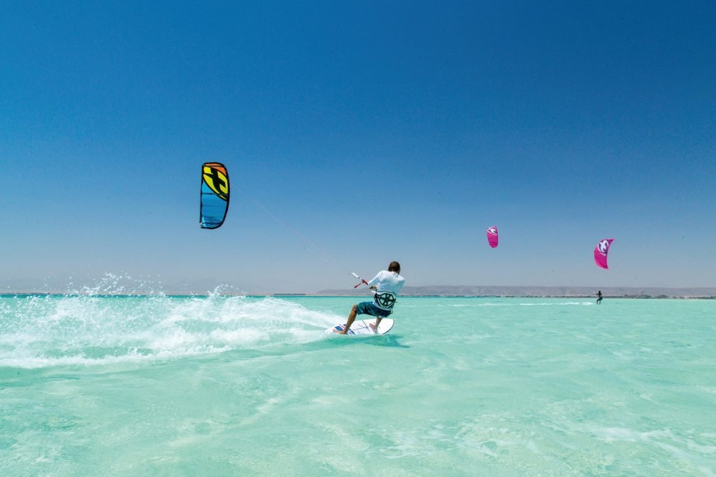 parasailing in Hurghada